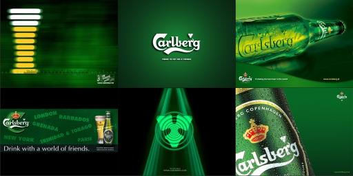 Carlsberg Beer Product Wallpaper Pack