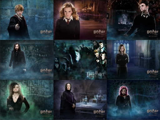 harry potter and the order of the phoenix official character  harry potter and the order of the phoenix official character wallpack order of the phoenix
