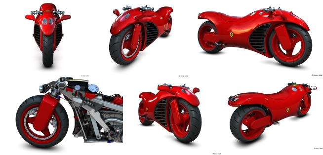 Ferrari V4 Superbike Concept Wallpaper Pack | The Spirit, The Star ...