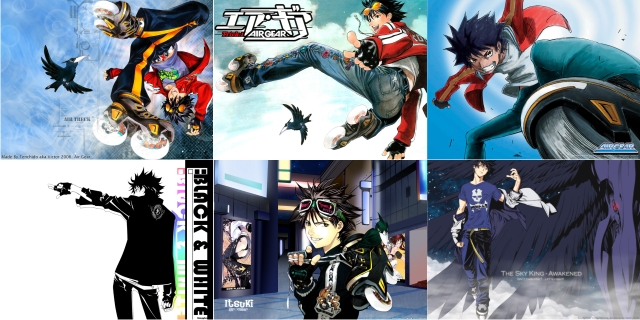 air gear wallpaper. Air Gear Ikki Wallpaper Pack